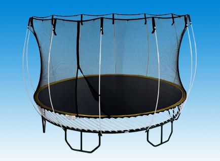 Safest trampoline moolee moolee for Springfree trampoline